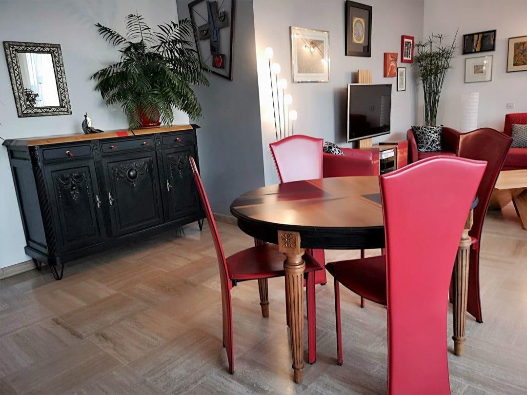 coaching-deco-déco-salle à manger-rouge