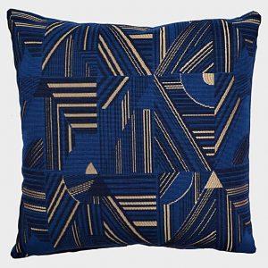 coussin-bleu-or-motifs-deco