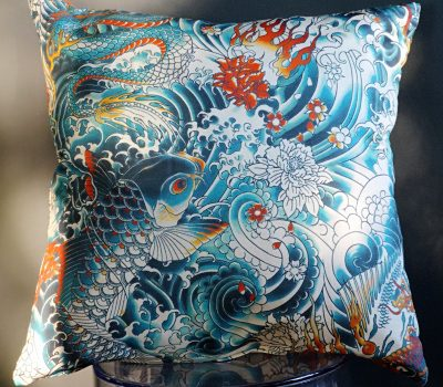 Coussin Rock Bengale