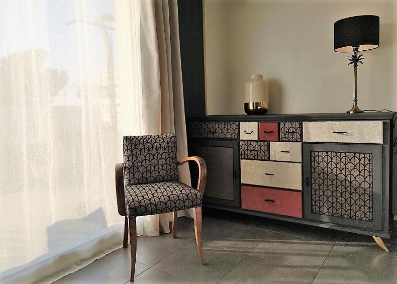 Séjour meuble décoration intérieur