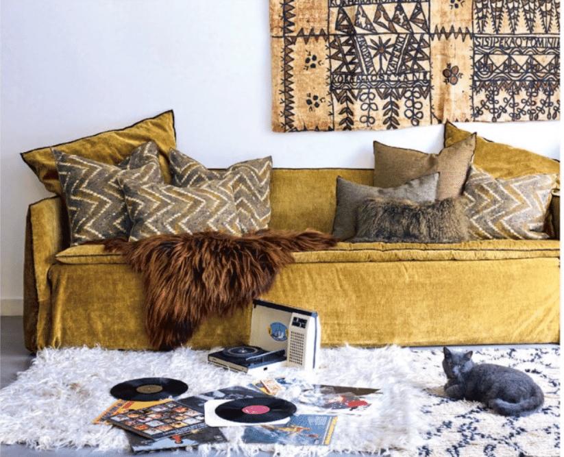 Style boheme ethnique deco interieur