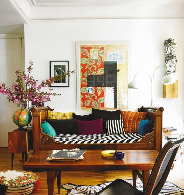 Style boheme ethnique decoration interieur 4