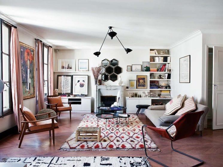 Style boheme ethnique decoration interieur Muda Creations