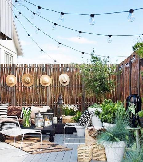 Idee deco terrasse d'été