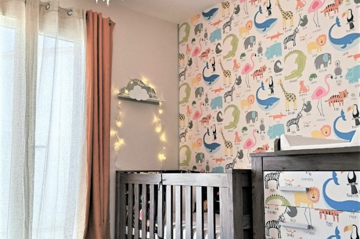 chambre de bebe decoration interieur Muda Creations