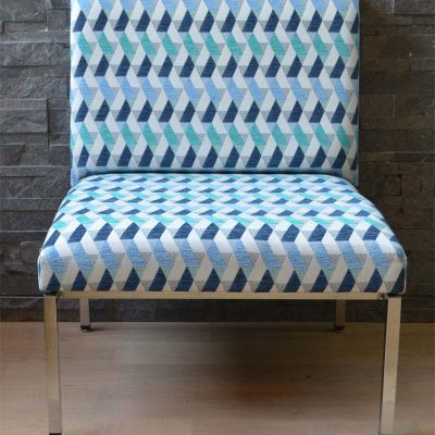 """""""Géométries Méditerranéenne"""" : ensemble de deux fauteuils"""