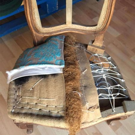 Restauration de chaise